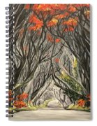 Road To The Throne Spiral Notebook