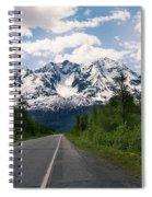 Road To Valdez Spiral Notebook
