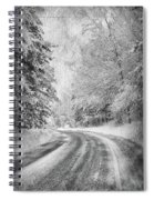Road To Winter Spiral Notebook