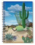 Roadrunner Spiral Notebook