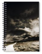Roads Of Atmosphere  Spiral Notebook