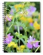 Roadside Bouquet Spiral Notebook