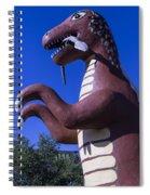 Roadside Dinosaur Spiral Notebook