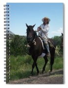 Roadside Horses Spiral Notebook