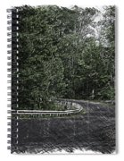 Roadway Fingers Lakes New York Area Pa 02 Spiral Notebook