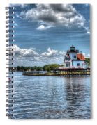 Roanoke River Lighthouse No. 2 Spiral Notebook