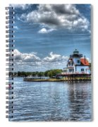Roanoke River Lighthouse No. 2a Spiral Notebook