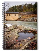 Roanoke River Niagra Rd Dam Spiral Notebook