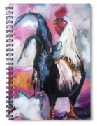 Roanoke Rooster Painting Spiral Notebook