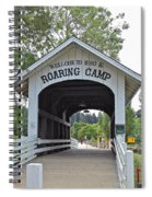 Roaring Camp Covered Bridge Spiral Notebook