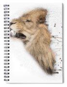 Roaring Lion No 04 Spiral Notebook