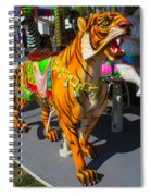 Roaring Tiger Ride Spiral Notebook