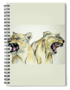 Roaring Times Spiral Notebook