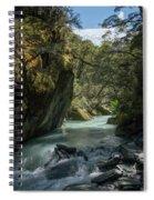 Rob Roy Stream New Zealand Spiral Notebook