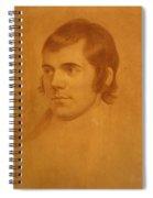 Robert Burns. Poet Spiral Notebook
