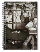 Robert Falcon Scott Spiral Notebook