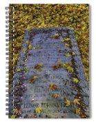 Robert Frosts Grave Spiral Notebook