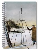 Robert Hutchings Goddard, 1862-1945 Spiral Notebook