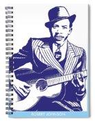 Robert Johnson Spiral Notebook