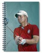 Robert Karlsson European Tour Spiral Notebook
