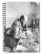 Robert Koch, German Bacteriologist Spiral Notebook