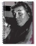 Robert Mitchum As Phillip Marlowe Neo Film Noir  The Big Sleep  1978. Spiral Notebook
