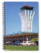 Robert Mueller Municipal Airport And Control Tower, Austin, Texas Spiral Notebook