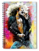 Robert Plant 03 Spiral Notebook