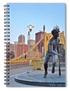 Roberto Clemente Statue 2017 Spiral Notebook