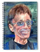 Robin Gibb Bee Gees Spiral Notebook