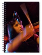 Robin Hoch The Wendy Woo Band Spiral Notebook