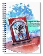 Robin Hood In Robin Hoods Bay Spiral Notebook