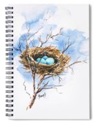 Robin's Nest Spiral Notebook