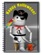 Robo-x9 Trick Or Treat Time Spiral Notebook