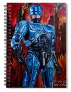 Robocop Spiral Notebook