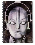 Robot From Metropolis Spiral Notebook
