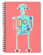 Robot 4 Spiral Notebook