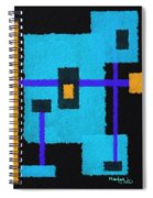 Robot Spiral Notebook