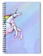 Robot Unicorn Attack Spiral Notebook