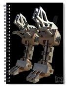 Robotic Limbs Spiral Notebook