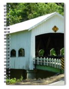 Rochester Bridge Spiral Notebook