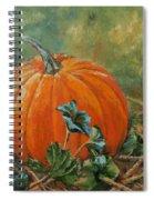 Rochester Pumpkin Spiral Notebook