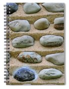 Rock Abstract Spiral Notebook