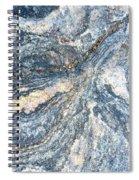 Rock Abstract Spiral Notebook