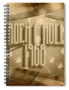 Rock And Roll 1968 Spiral Notebook