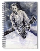 Rock And Roll Music Chuk Berry Spiral Notebook