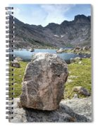 Rock At Abyss Lake Spiral Notebook