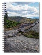 Rock Boundaries On Casecade Mountain Keene Ny New York Spiral Notebook