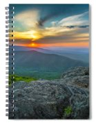 Rock Climbing At Ravens Roost Spiral Notebook