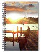 Rock Creek Morning Spiral Notebook